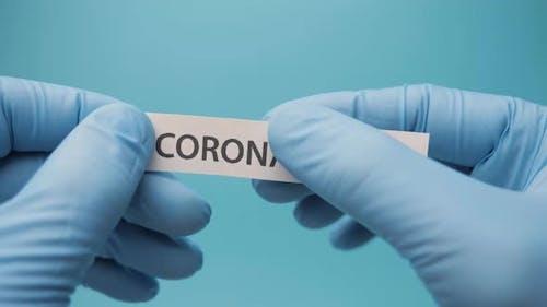 Coronavirus Vaccine for 2019-nCoV COVID Virus. Eliminating Coronavirus. Stop Spreading