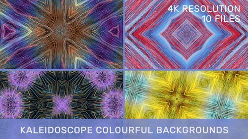 Kaleidoscope Colourful Backgrounds