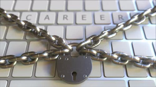 CAREER Text on the Keys of a Keyboard with Padlock