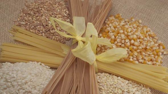 Cereals and Wholemeal Integral Pasta Spaghetti