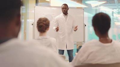 Anatomy Lesson at Medical University