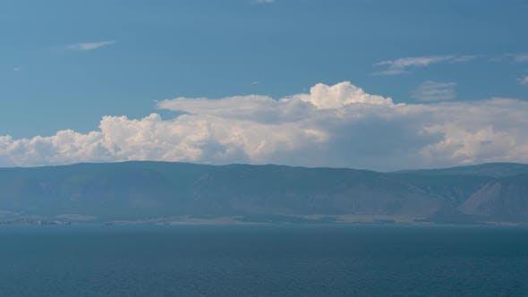 Thumbnail for Lake Baikal. Olkhon Island, Hujir Village, Shamanka Rock. Timelaps