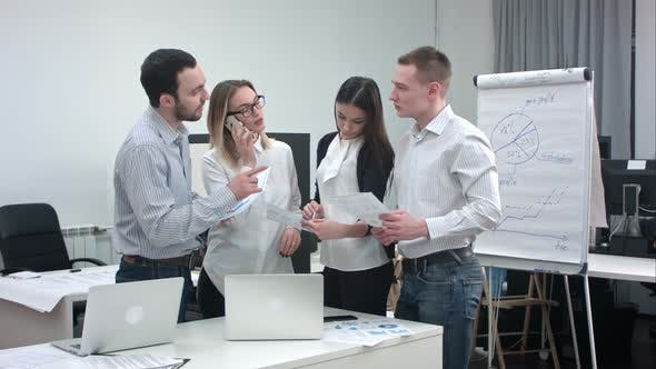 Thumbnail for Young Business Team Working in the Office