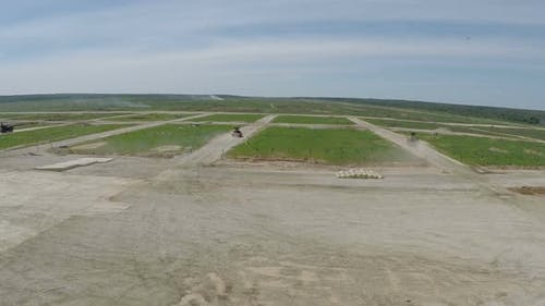 Flying Over Land Forces Maneuvers