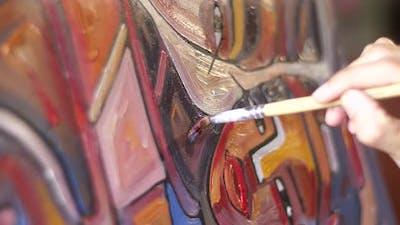 Paintbrush Painting