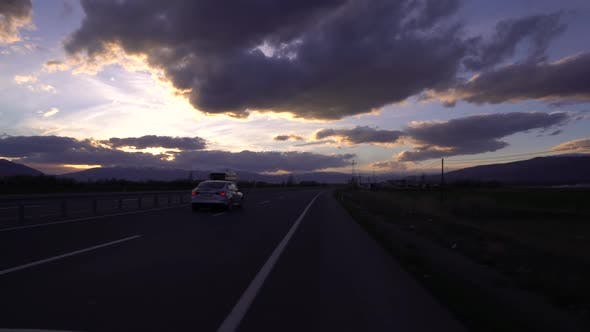 Thumbnail for Driving Car On A Road