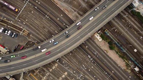Autobahn über Railtracks