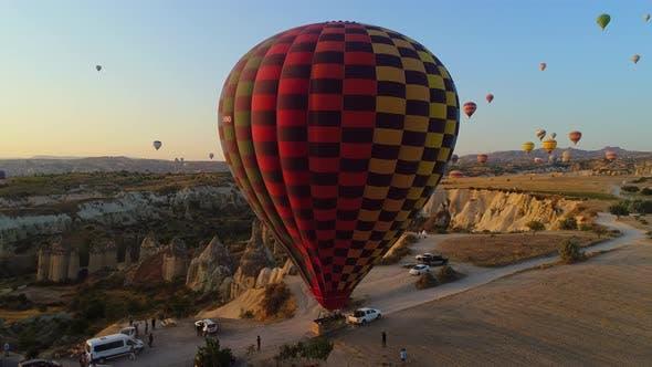 Air Balloons In Cappadocia