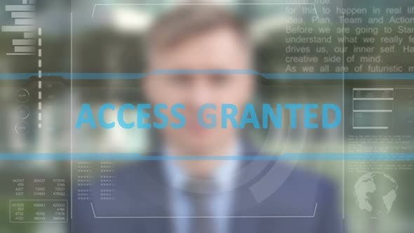 Thumbnail for Access Granted after Facial Recognition