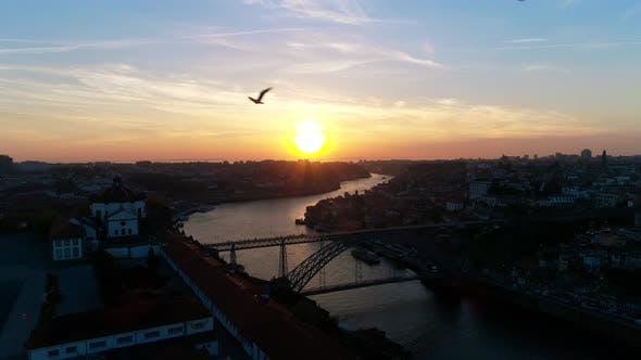 Thumbnail for Porto Bridge With Subway