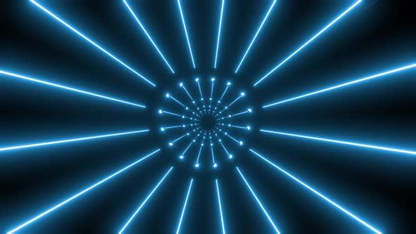 4k Colored Abstract Neon Tunnel Pack
