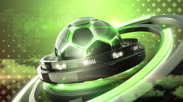 Thumbnail for Green Soccer Background