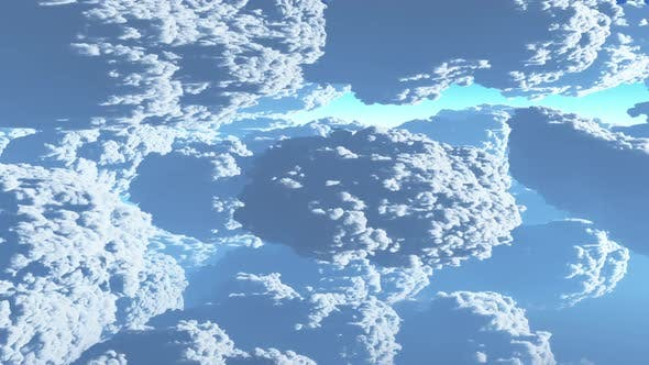 Thumbnail for Earth View Above The Cloud 07 HD