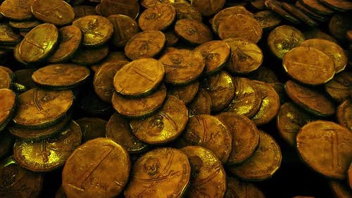 Der Piratenschatz von Piraten Goldmünzen Hd