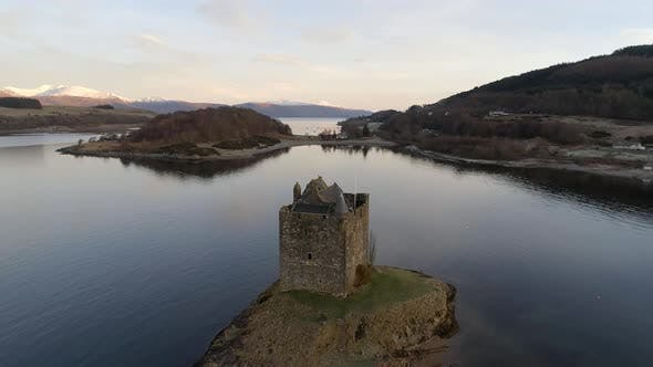 Thumbnail for Ruins of Castle Stalker in Scotland