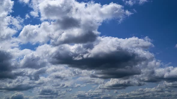 Cover Image for Running Summer Clouds Run Over The City