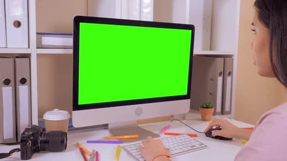 Thumbnail for Designer Typing on PC