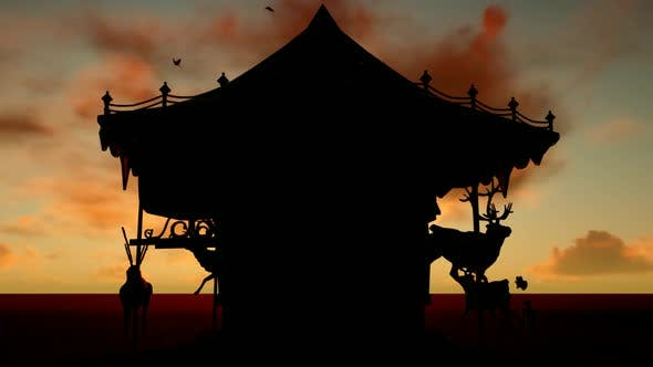 Thumbnail for Silhouette Carousel and Time-lapse Sky