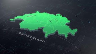 Digital Tech Switzerland Map