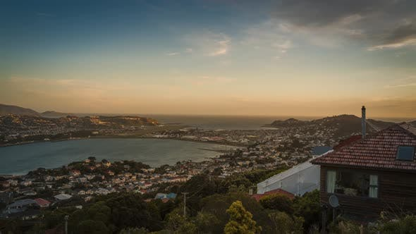 Thumbnail for Wellington evening timelapse