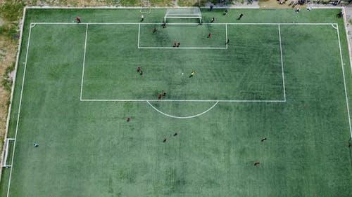 Football Stadium Aerial