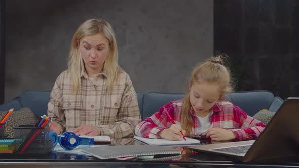 Thumbnail for Mother Shocked By Daughter's School Grades Indoors