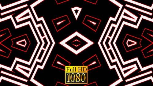 Vj Loop Kaleidoscope Abstraction Of July 60 fps HD