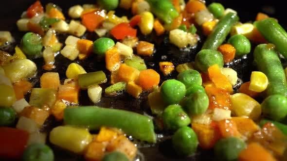 Thumbnail for Macro Frying Vegetables