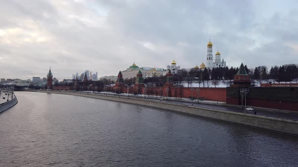 Thumbnail for Kremlin Embankment, Moscow Kremlin.