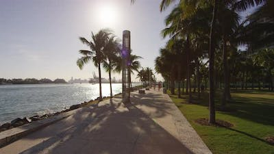 The waterfront in Miami