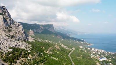 Rocks Sea Road Valley Village