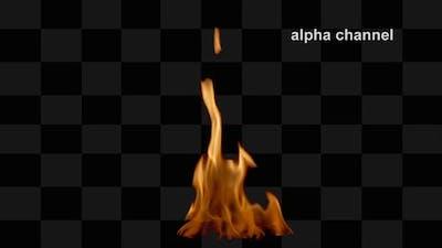 Fire Flame Loop 8
