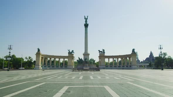 Thumbnail for Heroes' Square in Budapest