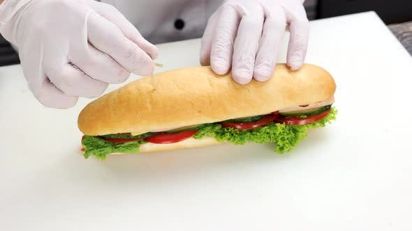 Hands of Chef, Sandwich