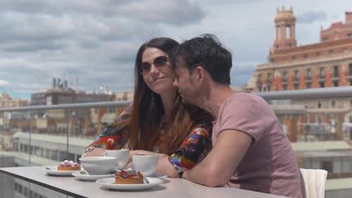 A Romantic Moment in Valencia
