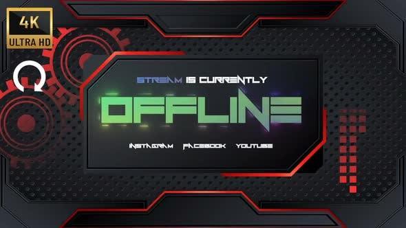 """4K - Streamer """"Offline Panel"""""""
