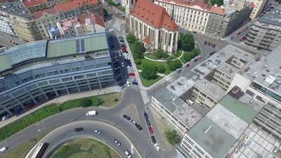 Aerial view of the European GNSS Agency