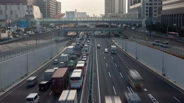 Thumbnail for Tokyo Road Traffic Japan Time Lapse
