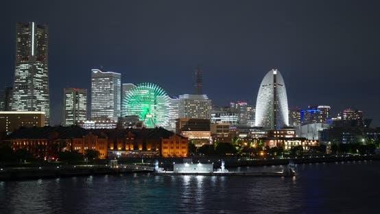 Thumbnail for Yokohama city at night