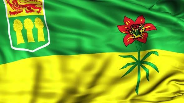 Cover Image for Saskatchewan Province Flag