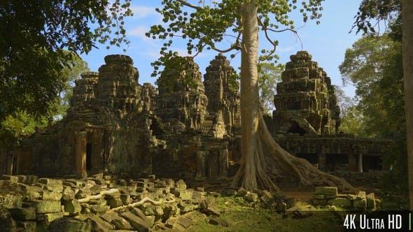 Thumbnail for 4K Banteay Kdei Temple, Siem Reap, Cambodia