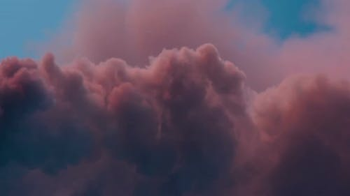 Pale Pink Clouds