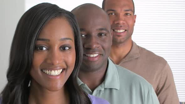 Thumbnail for Successful black business team