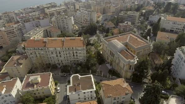 Thumbnail for Beautiful apartment buildings standing on seacoast, resort city, French Riviera