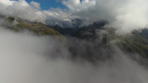 Mountain Village and Cloudy Valley