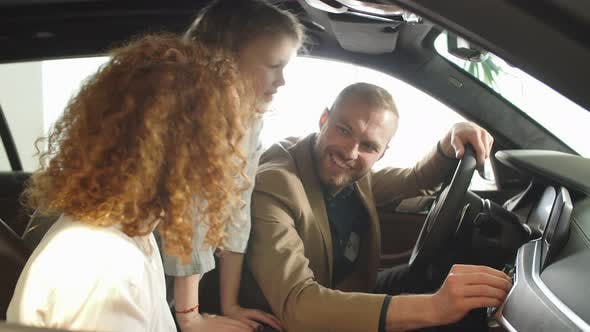 Happy Future Owners of Automobile