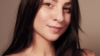 Beauty Model Romantic Woman Skincare Face Kiss