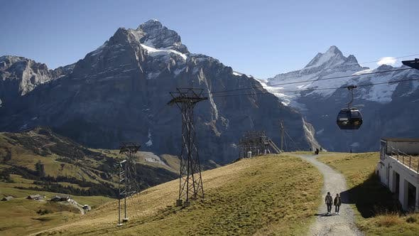 Thumbnail for View Point on the Top of Grindelwald First Cableway