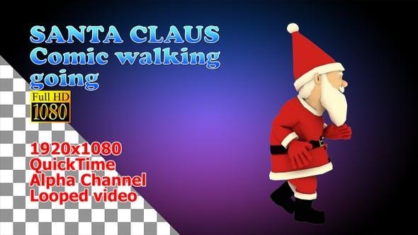 Thumbnail for Santa Claus Comic Run Going
