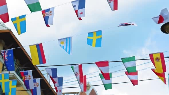 Thumbnail for national symbols, flags of all countries of the world